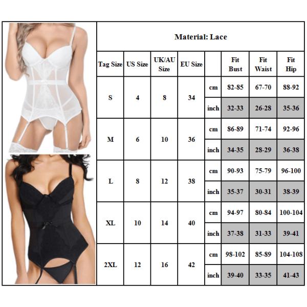 Sexig genomskinlig underkläder tunn för mode kvinnors nattkläder Black L