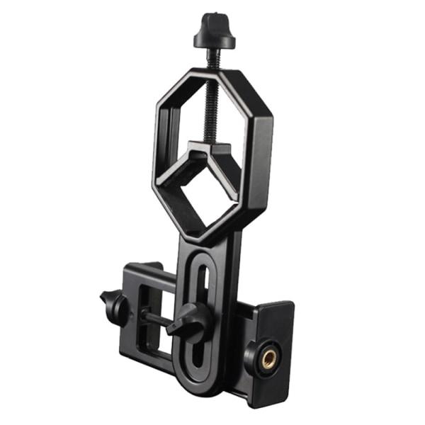 Litet teleskop mobiltelefonhållare tydligt justerbart avstånd