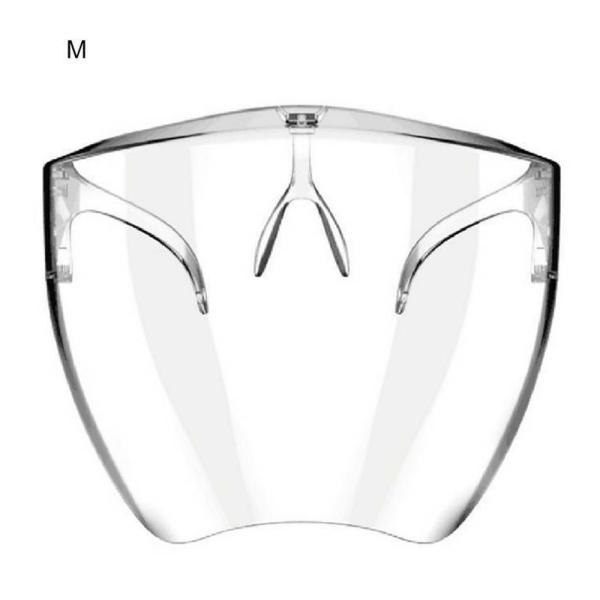 Transparent Skyddande Näsans Ansiktsmunstycke Med Fäste M