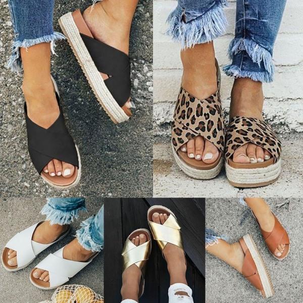 Sandaler för konstläder i konstläder för kvinnor black 38
