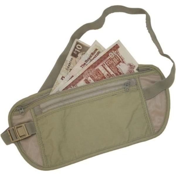 Travle Check midjeväska / magväska för pengar/pass/värdesaker