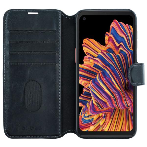 Plånboksfodral till Samsung Galaxy Xcover Pro från CHAMPION Svart