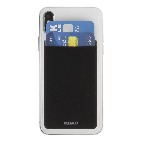 Kreditkortshållare med RFID-blockering för smartphones, 3M tejp