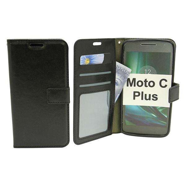 Crazy Horse Wallet Moto C Plus Vit
