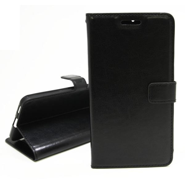 Crazy Horse Wallet Huawei P20 Lite Svart