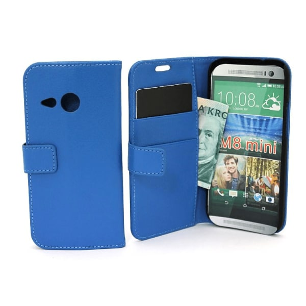 HTC One Mini 2 Standcase wallet Vit