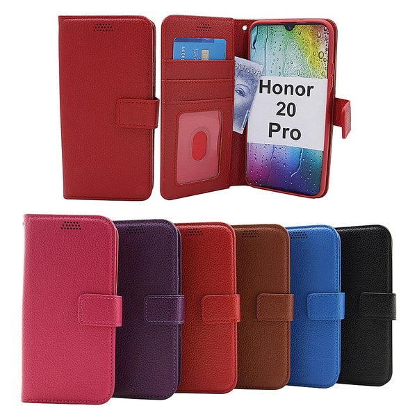 New Standcase Wallet Honor 20 Pro Hotpink