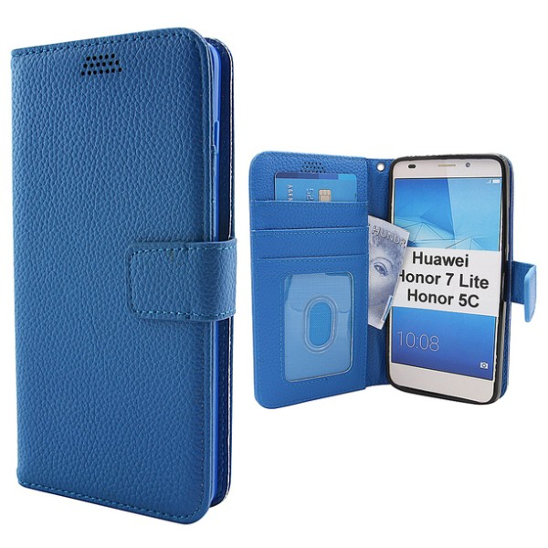 New Standcase Wallet Huawei Honor 7 Lite (NEM-L21) Brun