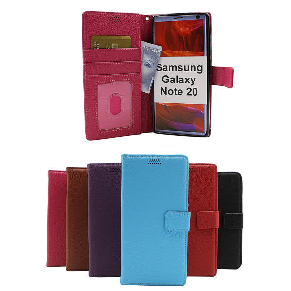 New Standcase Wallet Samsung Galaxy Note 20 5G Lila