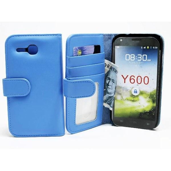 Plånboksfodral Huawei Ascend Y600 Grön