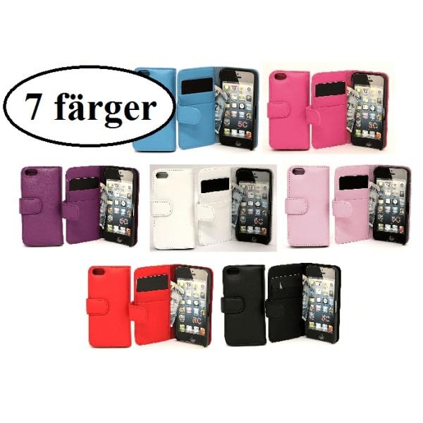 Plånboksfodral iPhone 5C Ljusrosa