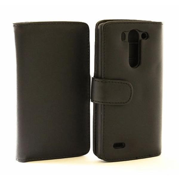 Plånboksfodral med 3 Fickor, LG G3 S (D722) Ljusrosa