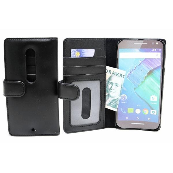 Plånboksfodral Motorola Moto X Style Hotpink