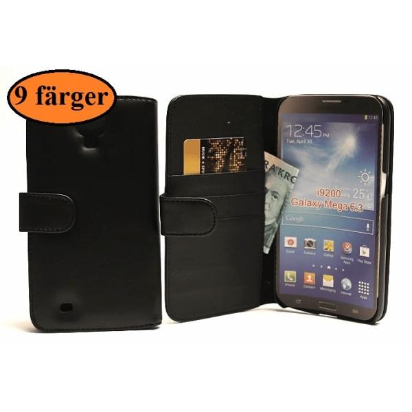 Plånboksfodral Samsung Galaxy Mega (i9205) Röd