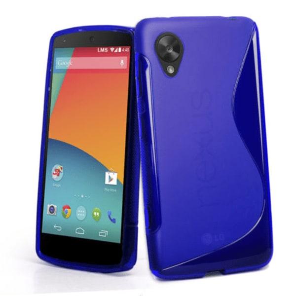 S-line skal Google Nexus 5 (LG) Vit
