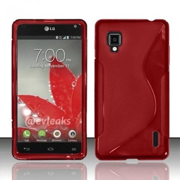 S-Line skal LG Optimus G (E973) Vit