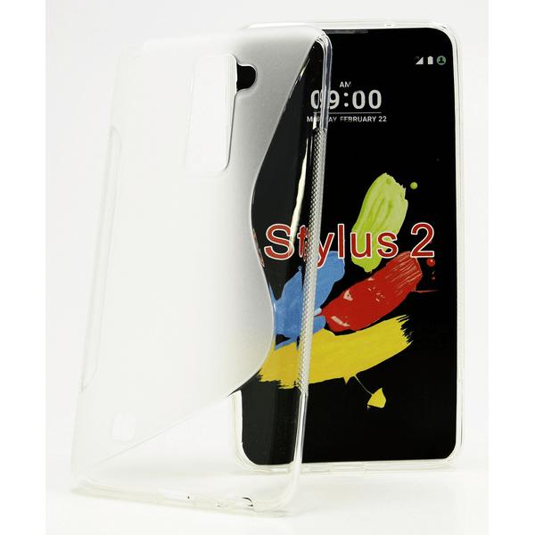 S-Line skal LG Stylus 2 (K520) Svart
