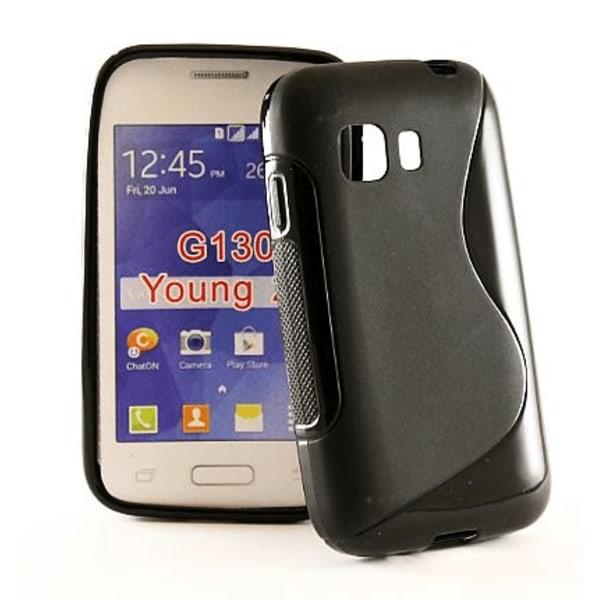 S-Line skal Samsung Galaxy Young 2 (SM-G130H) Svart