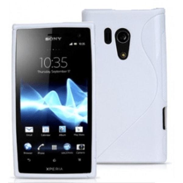 S-line skal Sony Xperia Acro S (LT26w) Hotpink
