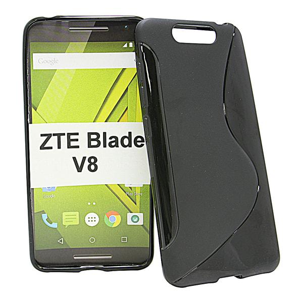 S-Line Skal ZTE Blade V8 Svart