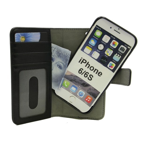 Skimblocker Magnet Wallet iPhone 6/6s Hotpink