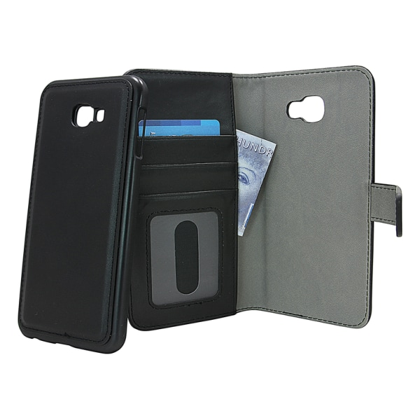 Skimblocker Magnet Wallet Samsung Galaxy J4 Plus (J415FN/DS) Hotpink