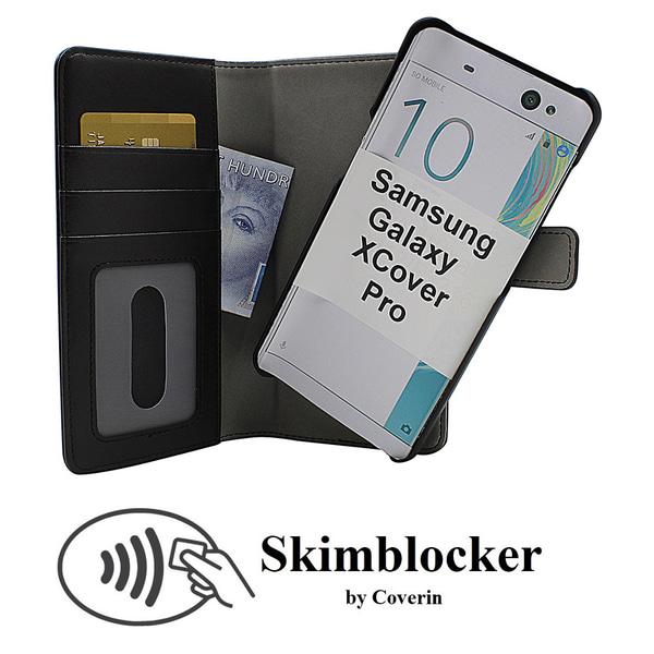 Skimblocker Magnet Wallet Samsung Galaxy XCover Pro