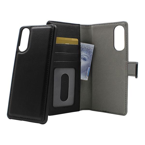 Skimblocker Magnet Wallet Sony Xperia 10 II (XQ-AU51/AU52) Svart