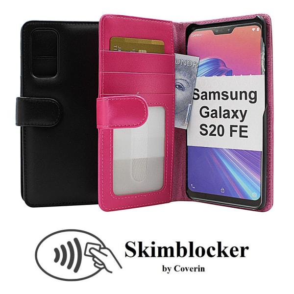 Skimblocker Plånboksfodral Samsung Galaxy S20 FE (G780F) Svart