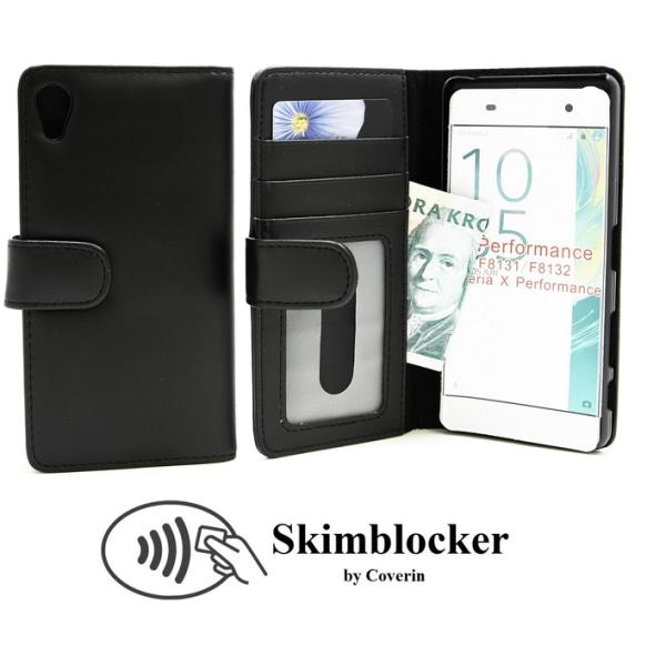 Skimblocker Plånboksfodral Sony Xperia X Performance