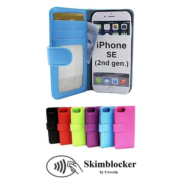 Skimblocker Wallet iPhone SE (2nd Generation) Ljusrosa G653