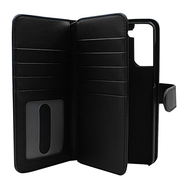 Skimblocker XL Magnet Fodral Samsung Galaxy S21 Plus 5G Hotpink
