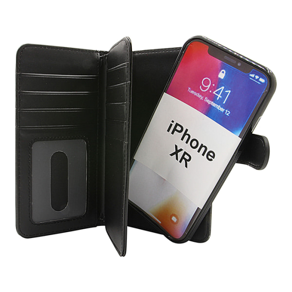 Skimblocker XL Magnet Wallet iPhone XR Lila