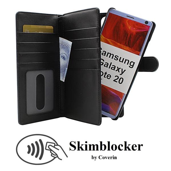 Skimblocker XL Magnet Wallet Samsung Galaxy Note 20 5G