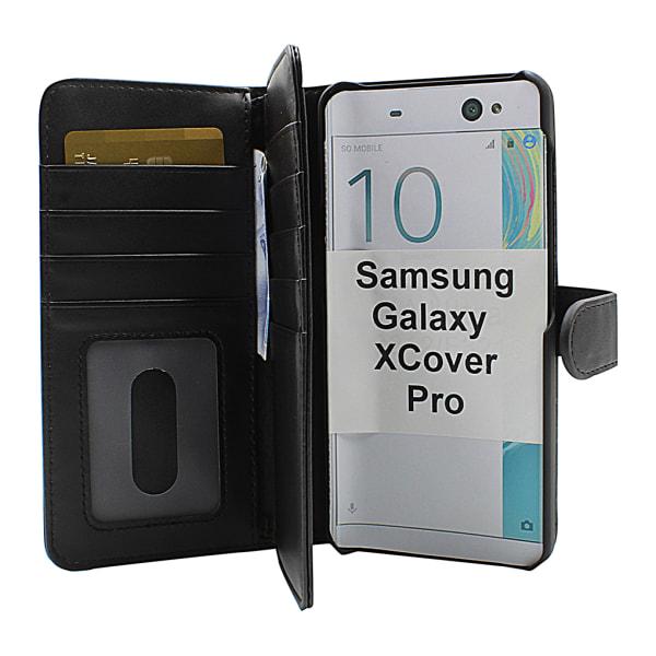 Skimblocker XL Magnet Wallet Samsung Galaxy XCover Pro (G715F)