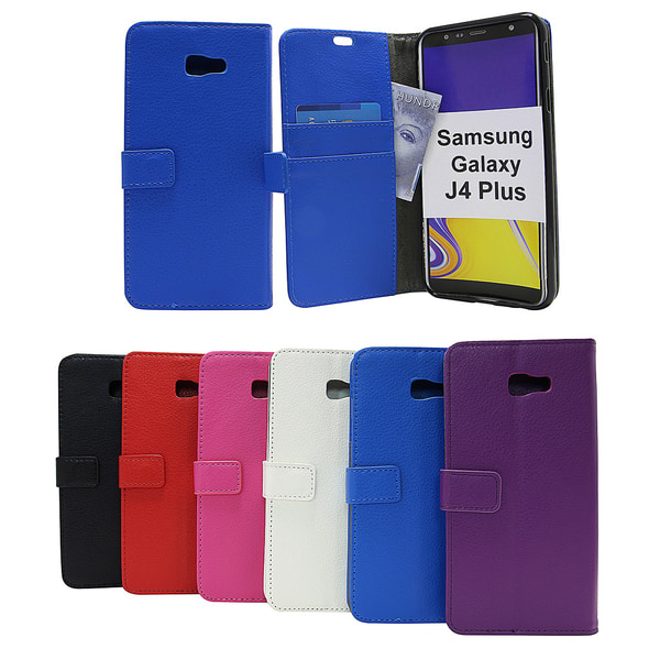 Standcase Wallet Samsung Galaxy J4 Plus (J415FN/DS) Lila