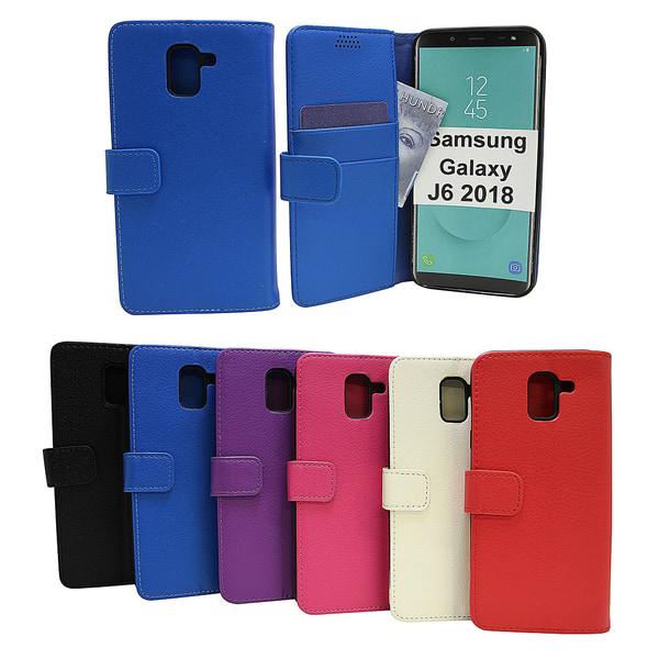 Standcase Wallet Samsung Galaxy J6 2018 (J600FN/DS) Svart