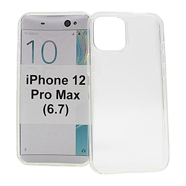 TPU Skal iPhone 12 Pro Max (6.7) (Clear)