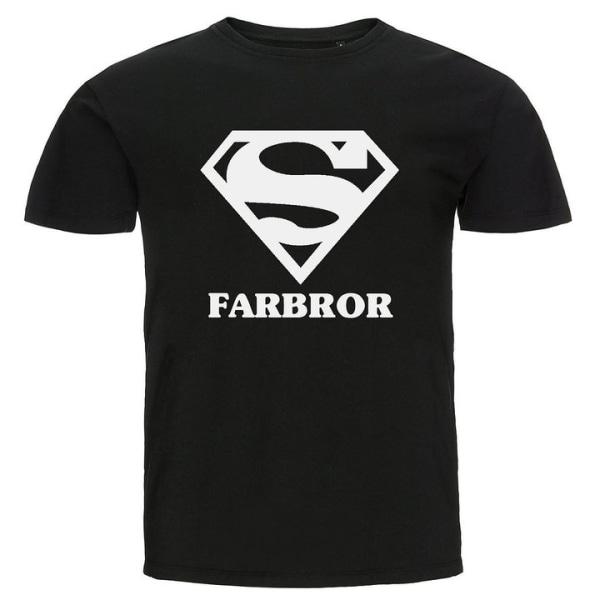 T-shirt - Super farbror Svart L