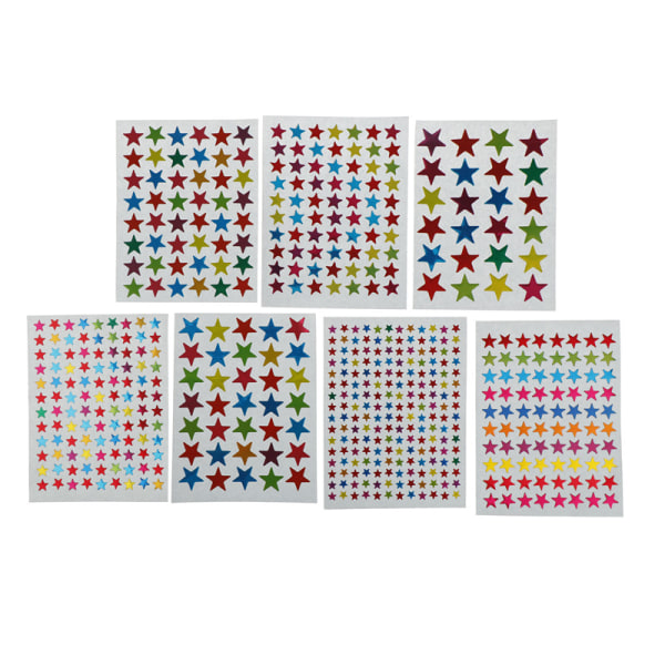 10 ark DIY fotoalbum klistermärke Star Kids Stationery Diary Sc