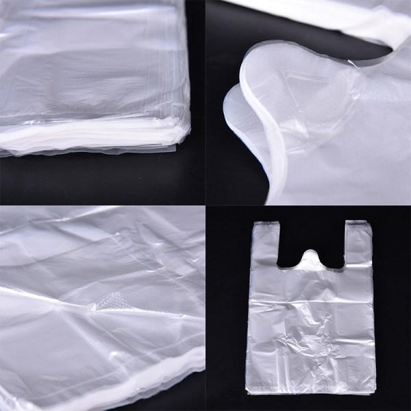 100st design plast T-shirt detaljhandel shopping stormarknad väskor