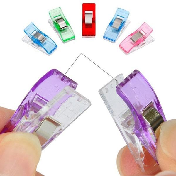 20st Multicolor Patchwork Syverktyg Tillbehör Quiltning Plast