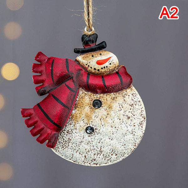 Julgransprydnader Snögubbe Santa Claus Angel Hanging Pend A1
