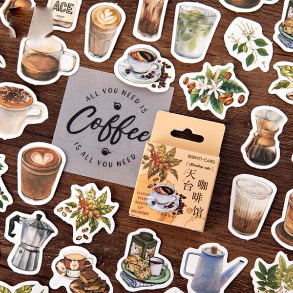 46st Dekorativa Klistermärken Scrapbooking Etikett Dagbok Brevpapper A
