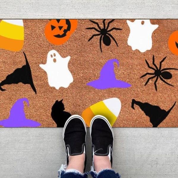 Vintage Halloween Home Floor Door Mat Kitchen Decor Matta Abso 38