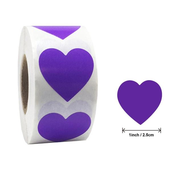 500st / set hjärtat Etiketter klistermärken festaktivitet gynnar statione