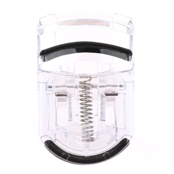 Plast Mini bärbara ögonfransrullare ögonfransar Curling Clip F Transparent
