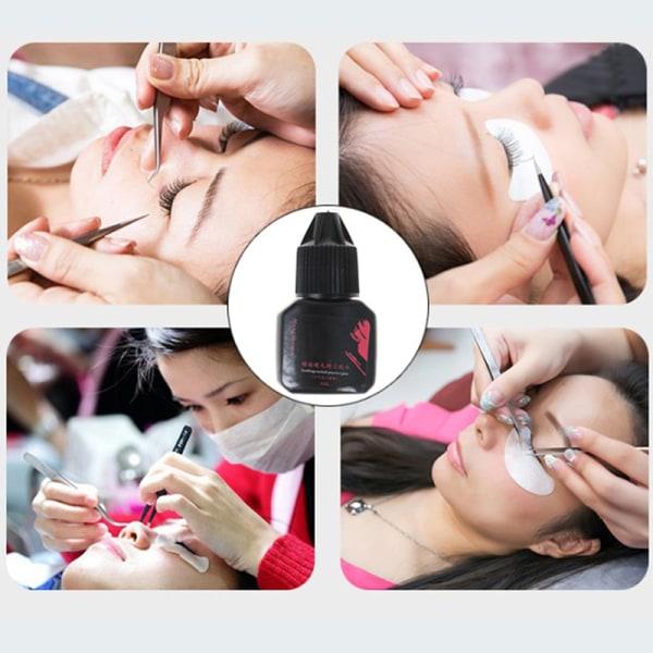 5 ml ögonfransförlängningslim 1-3 andra snabbtorkande ögonfransar Glu