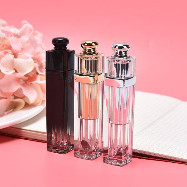 5 ml läppglansrör Läppstift påfyllningsbar Tom flaska kosmetisk C