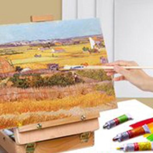 5st Bomullsram för duk Oljemålning Professionell Arti